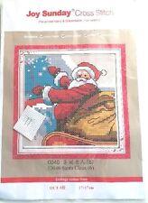 Santa Claus printed Cross Stitch Kit