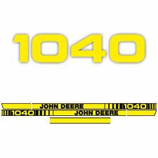 John Deere 1040 tractor decal aufkleber adesivo sticker set