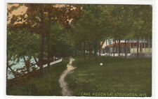 Collins & Kendall Cottages Lake Kegonsa Stoughton Wisconsin 1910c postcard