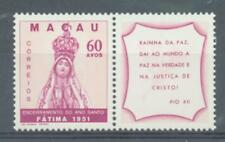 More details for macao 1951 termination of hol;y year sg.450 + label mnh
