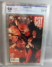 CATWOMAN #58 (Adam Hughes Zatanna Cover) White Pages CBCS 9.6 NM+ DC 2006 cgc