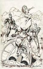 Sean Chen - Marvel Comics X-Men - 11x17 - Original Art Drawing - Wolverine