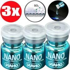 3Pack Nano Hi-Tech Liquid Screen Protector Full Cover Universal 9H Screen Film