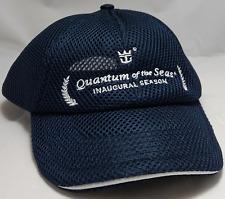 QUANTUM OF THE SEAS hat cap royal caribbean cruise ship inaugural season mesh