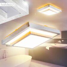 Illuminazione IP44 Plafoniera Luce LED Acciaio Sala Stanza Camera Bagno Ingresso