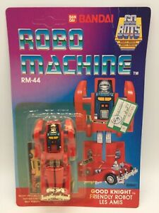 Vintage Robo Machine RM-44 GOOD KNIGHT Transformer Robot MOC Euro Card Bandai