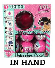 IN HAND - LOL Surprise Pets Series 4 WAVE 2 Eye Spy Case Box 18 Balls Doll Brush