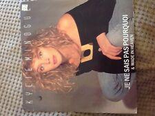 "Kylie Minogue - Je ne sais pas  pourquoi used 7"" vinyl record"