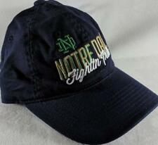 LZ Adidas Youth One Size OSFA Notre Dame Fighting Irish Baseball Hat Cap NEW D58