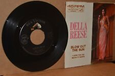DELLA REESE: BLOW OUT THE SUN; RCA 8070 MINT- NORTHERN SOUL 45 & PICTURE SLEEVE