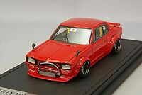 ignition model 1/43 LB-WORKS Hakosuka 2 Dr Red IG0715 Resin Model