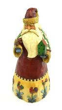 "Heartwood Creek Jim Shore 105528 10"" Santa with Birdhouse Christmas 2002 Enesco"
