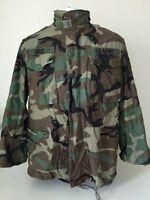Mens Military Jacket Small/Short Weather Field Jacket Camo