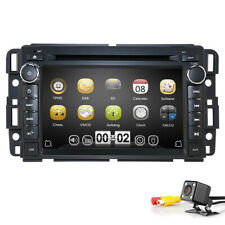 Car Stereo DVD Player GPS Navigation for GMC Yukon Acadia Chevy 2007-2012+Camera