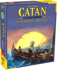 CATAN ~ Explorers & Pirates Board Game 5-6 Player Extension (Mayfair Games) #NEW