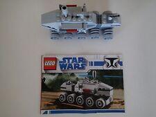LEGO STAR WARS #20006 w/Instructions, Clone Turbo Tank, Battle Vehicle Gun Fight