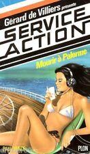 Service Action - Mourir à Palerme / Paul VENCE / Gérard de VILLIERS / 1. Edition