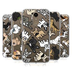 HEAD CASE DESIGNS DOG BREED PATTERNS SOFT GEL CASE & WALLPAPER FOR LG PHONES 1