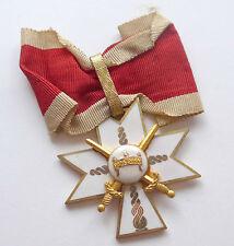 Kroatien --Orden der Krone König Zvonimirs- 2. Klasse mit Schwertern Sehr selten
