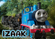 PERSONALISED NAME THOMAS THE TANK ENGINE A4 LAMINATED CARD TABLE PLACE MAT