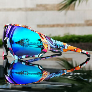 Men's Cycling Glasses Bike Bicycle Eyewear Outdoor Sports Polarized Sunglasses