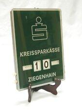 ewiger Kalender 70er Jahre Kreissparkasse Ziegenhain