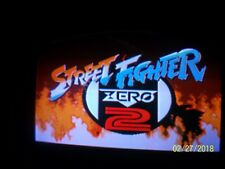 Tested Working Capcom Street Fighter Zero 2 Jamma A & B Board Set