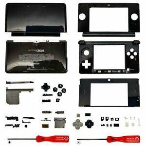 Housing Shell for Nintendo 3DS System Replacement Screen Tools Console Black