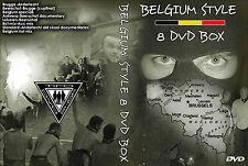 8 DVD BOX BELGIUM HOOLIGANS (ULTRAS,HOOLS,CASUALS,BELGIE,HOOLIGAN,CASUAL,RIOTS)