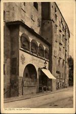 Salzbourg carte postale ~ 1920/30 routes lot à la salzach métier Jacob forestière