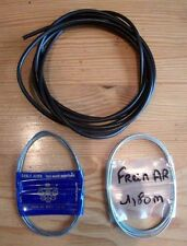 3m GAINE NOIRE + CABLE FREIN AV + CABLE FREIN AR (Neuf) SOLEX  MOBYLETTE