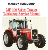 MASSEY FERGUSON TRACTOR SHOP SERVICE MANUAL MF675 MF690 MF698 MF 600 675 690 698