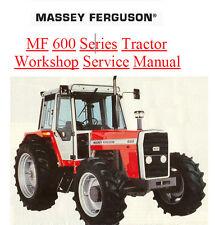MASSEY FERGUSON TRACTOR SHOP SERVICE MANUAL MF675 MF690 MF698 MF 600 675 690 698