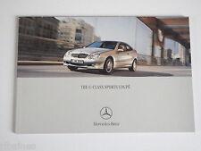 Sales Brochure: Mercedes-Benz C-Class Coupe, Kompressor CDI C230 C320 etc