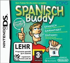 Espagnol Buddy Nintendo DS jeu espagnol vocabulaire de jeux éducatifs diktat grammaire