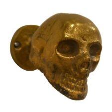 Rojo 16 826 Brunei Raw Rustic Gold Skull Coat Hook