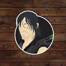 Daryl (The Walking Dead) Vector Illustration Portrait Decal/Sticker