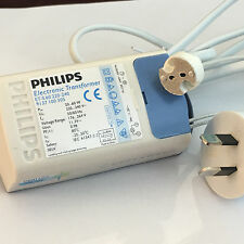 PHILIPS 60w Electronic transformer ETS60 ETS-60 with au plug and MR16 socket
