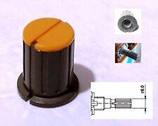 1 Bouton jaune et noire pour potentiomètre TEAC M-3 ou M-5B TASCAM et autre