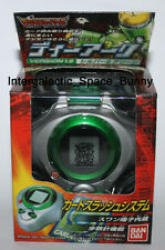 Bandai 2001 Digimon Digivice Season 3 D Ark 1.5 Silver & Green Boxed Unused