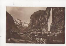 Lauterbrunnen Switzerland RP Postcard Schild Bichsel 467b