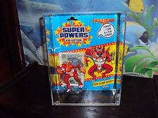KENNER SUPER POWERS FIGURES ACRYLIC THIS SALE IS FOR ACRYLIC CASES ONLY NO TOYS