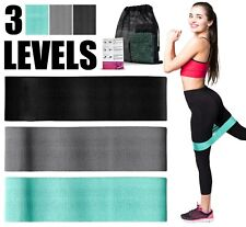 Workout Resistance Bands Set of 3 Non Slip High Resistance Exercise Booty Bands