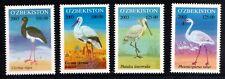2003. Uzbekistan. BIRDS. Set of 4. MNH. Sc.374-377