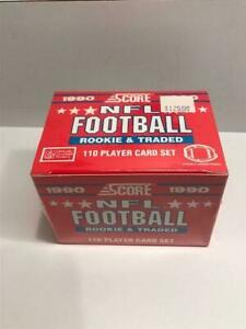 1990 Score Football Rookie & Traded Set 110 Cards Factory Sealed