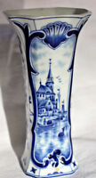 Porzellan Vase Hollandmotiv