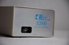 Ocean Optics S2000 S2000RJ Spectrometer w/ SAD500 Serial Interface 341nm-1010nm