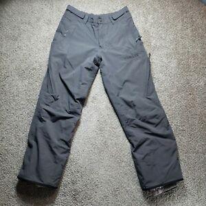 Helix Womens Snowboarding Ski Gray Pants Size Medium