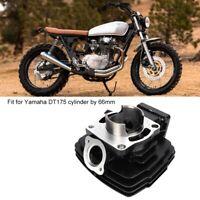 66mm Engine Aluminum Cylinder Piston Assembly Kit for Yamaha DT175 Cylinder