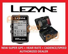 NEW Lezyne Enhanced SUPER GPS Bike Computer HRSC LOADED Heart Rate Speed Cadence